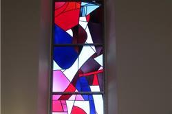 Les Genevez vitrail n°8
